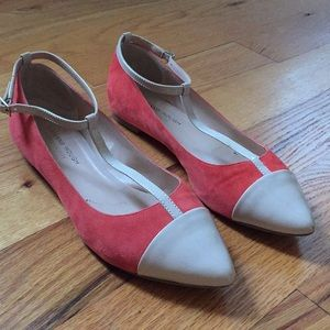 T-strap flats, Sole Society, size 8